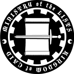 Seal of the Ministry of the Lists‎